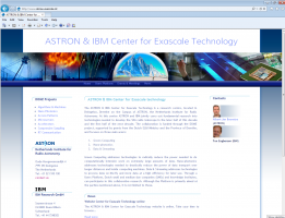 Official launch ASTRON & IBM Center for Exascale Technology