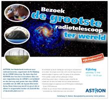 Be an astronomer for one day at ASTRON!