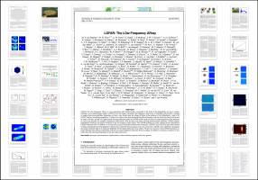 LOFAR overview paper accepted