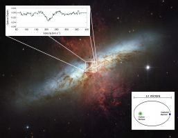LOFAR discovers largest carbon atoms outside our Milky Way