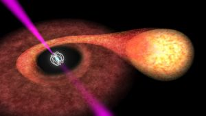 Astronomers observe pulsar switching in energy source